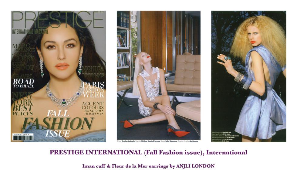 PRESTIGE INTERNATIONAL (Fall Fashion issue), International