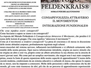 METODO FELDENKRAIS®: SOMA E PSICHE ALL'UNISONO
