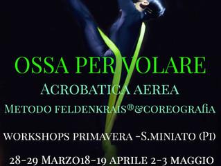 Ossa per Volare: Workshops Primavera 2020 con Loretta Morrone