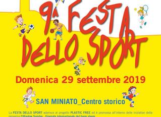Discipline Aeree del Circo & Metodo Feldenkrais® alla 9° Festa dello Sport di San Miniato (Pi) L
