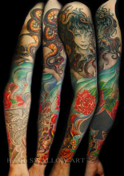 メドューサと薔薇/Medusa & rose
