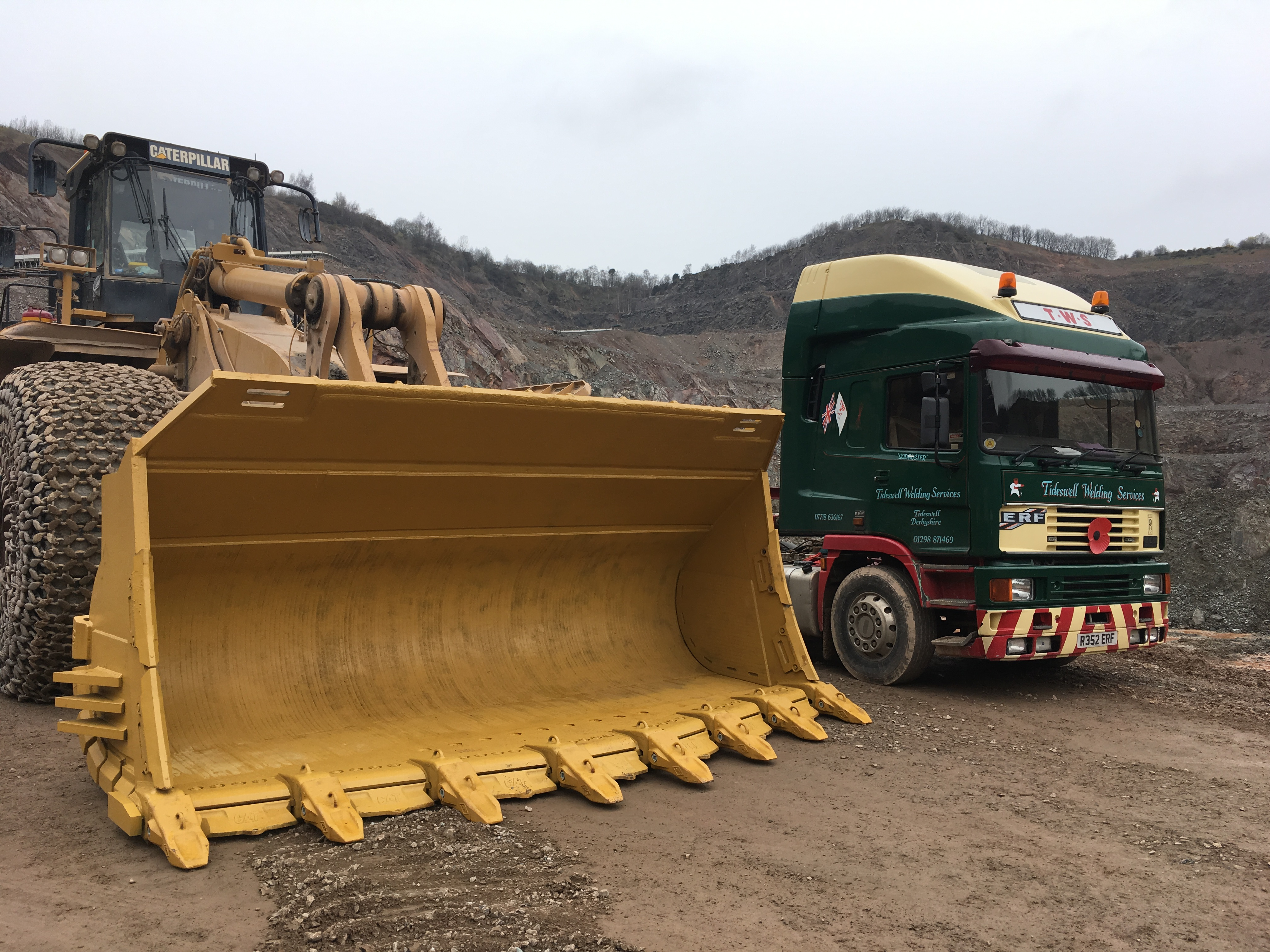 Cliffe Hill 992 Re-furb bucket