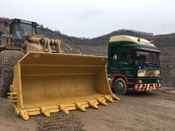 Cliffe Hill 992 Re-furb bucket