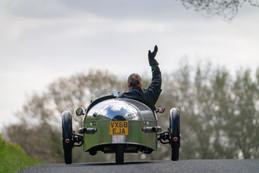 Rear driving shot of a Pembleton V-Sport