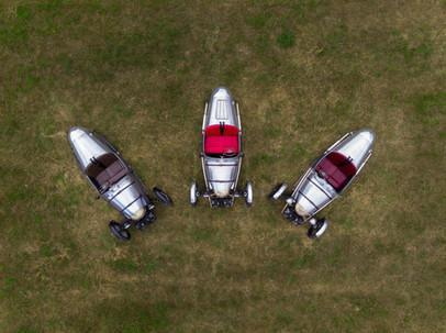 Aerial Photograph of Pembleton V-Sports