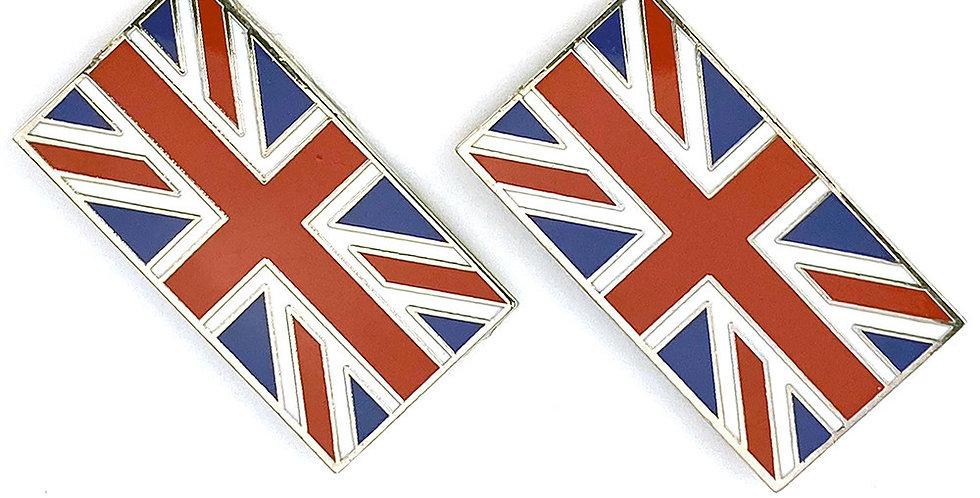 Union Jack Badge (pair)
