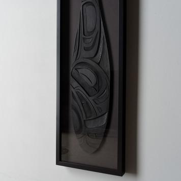 Framed Eagle Paddle