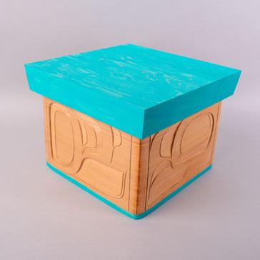 Eagle Bentwood Box
