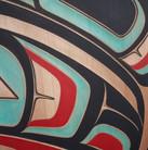 Trevor Angus-Raven-Panel-Red Cedar-Acryl