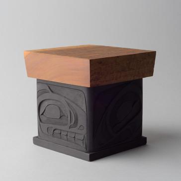 Wolf Bentwood Box