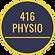 416 Physio logo