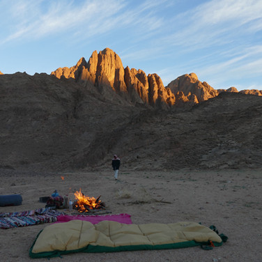 When moving in the desert, the Bedouin rarely carry tents. Their way is to sleep below the big desert skies. Some call it the 'million star hotel'.