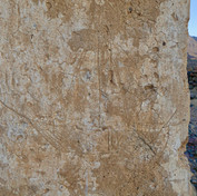 Ancient graffiti is found too, including this sailing boat, etched into plastered columns around a well.