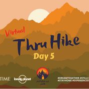 Today is a special milestone day on the virtual thru hike of the Red Sea Mountain Trail as we reach the half-way mark of the route! It's day 5 & so far the trail has covered 75km, crossing the barren & jagged easterly half of the Red Sea Mountains to enter the wilderness of the west: a magical land of shadowy gorges, red rock peaks & green pools, wandered by families of nomadic Bedouin. The walk through the wild westerly parts of the trail takes 3 days & today is the 2nd: it's another one of the most beautiful days crossing lush green meadows & scaling the high peak of Jebel Um Samyook, whose summit gazes out over rolling desert lowlands to the tablelands flanking the Nile. So yalla beena join the digital caravan until we can all walk the trail again & everybody look after eachother & yourselves.