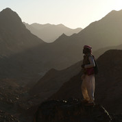 Jebel Abul Hassan is the most remote part of the RSMT: these mountains can only be reached on foot & have a deep & peaceful wilderness feel.