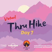 Today is day 7 of the Red Sea Mountain Trail's virtual thru hike & the switchover between two beautiful regions. Upto now 100km have been covered & over the last 3 days the trail has traversed the wild westerly realm of the mountains. Today the trail goes north, leaving the red rock wilderness of the west to enter a mysterious world of dark purple stone whose unique beauty caught the gaze of distant empires & civilisations thousands of years ago. Moving between these two worlds a rugged sweep of lowlands is crossed where nomadic Bedouin families still move with their herds, giving a chance to see a little more of their ancient traditions & heritage. So yalla beena join the last few days of the digital hike until the time we can all walk these beautiful deserts for real!