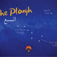 The Bedouin have traditionally used the stars to find north, read seasonal switchovers & predict fortune & danger. The Bedouin also had many legends about the stars which they used to communicate important lessons. This constellation is known to English speakers as 'The Plough' & as 'El Sabaa' ('The Seven') to the Bedouin. For thousands of years a fable has been told about this group of stars. The three stars at the 'handle' end of the 'plough' represent three sisters & the four stars at the bottom symbolise their father's coffin. Their father was murdered by an unknown killer & the sisters walk together, wheeling his coffin on a bier to his burial every night.