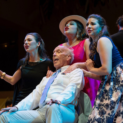 with Bob Orth, Alexandra Rodrick, Helen Hassinger and Maestro Steven Osgood leading the CSO, Chautauqua Opera Highlights Concert, 2018