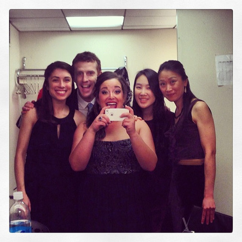 Recital Pianist's Mirror Selfie!  2014