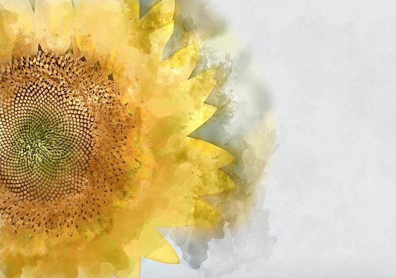 Sunflower - Decoupage