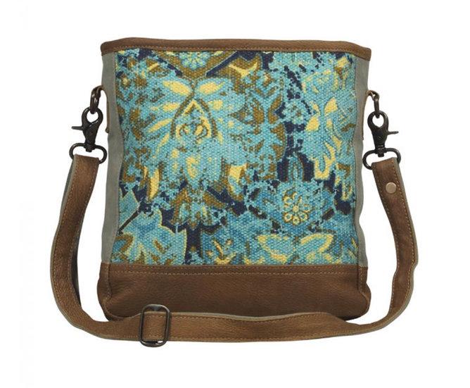 Myra Aqua Trail Shoulder Bag