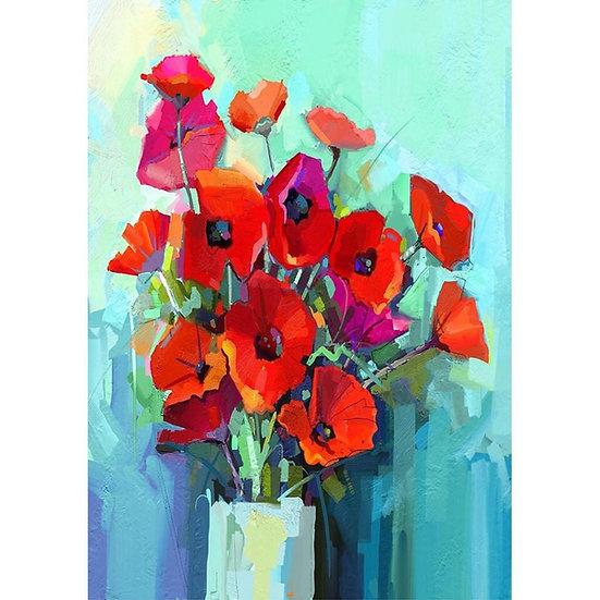 Poppies - Decoupage