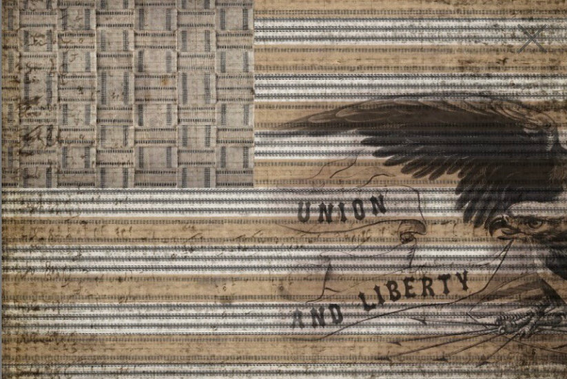 Union Liberty Decoupage Paper