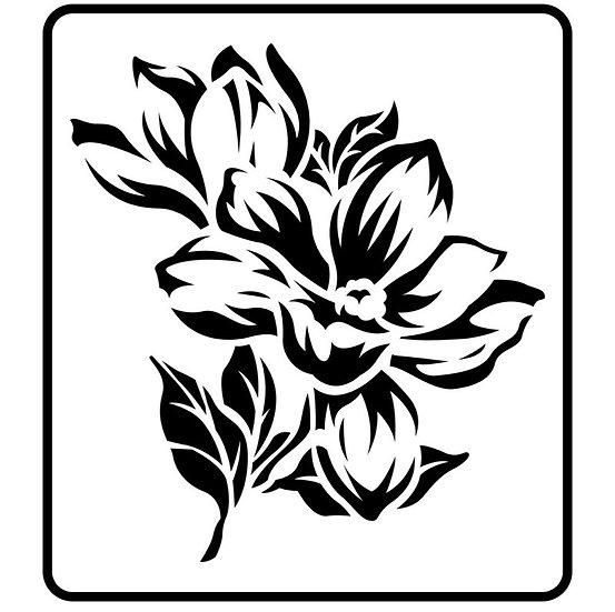 Magnolia JRV Stencil