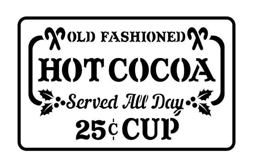 Hot Cocoa JRV Stencils