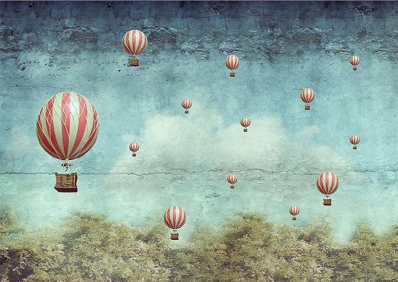 Balloons - Decoupage