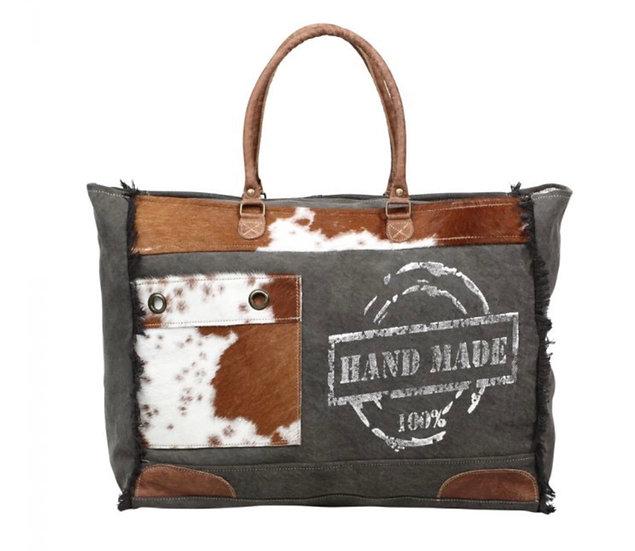 Myra Handmade Print Weekender Bag