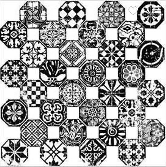 IOD Stamp Mosaico