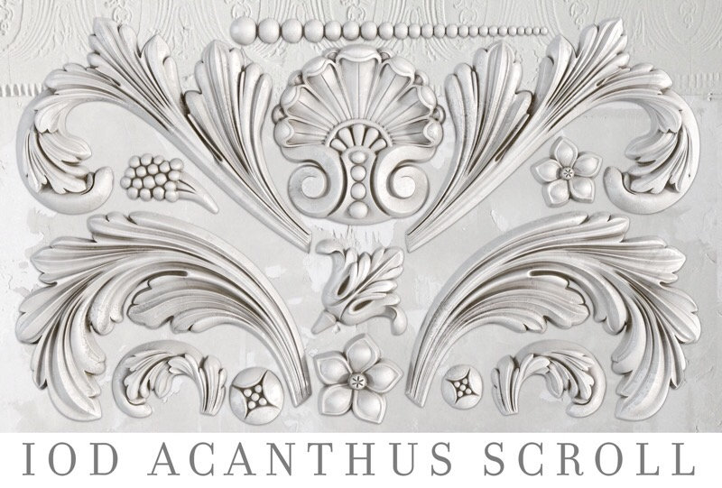 Acanthus Scroll Moulds