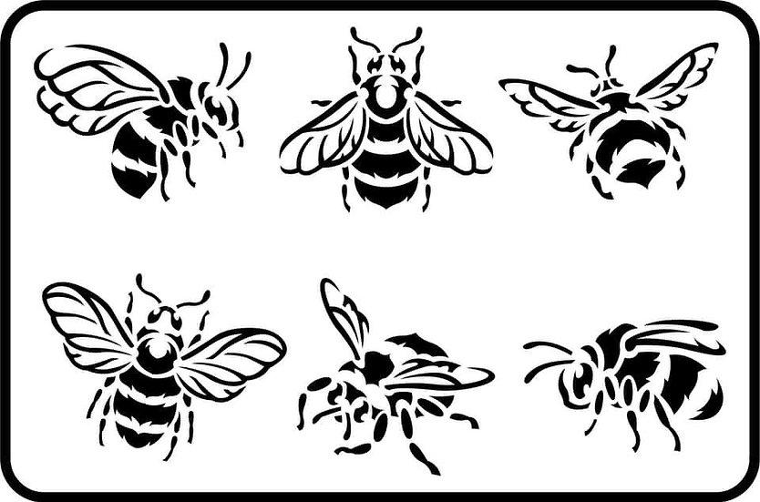 Bees Stencils