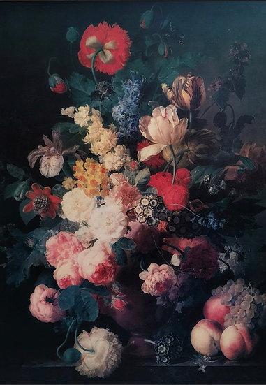Renaissance Flowers - Decoupage