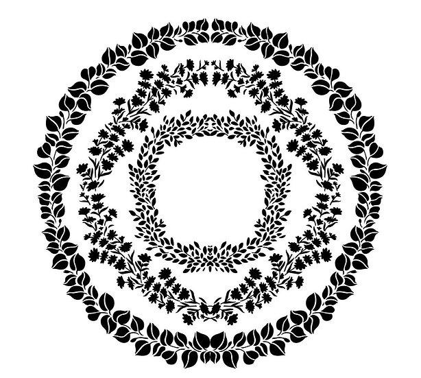 Wreath Maker JRV Stencils