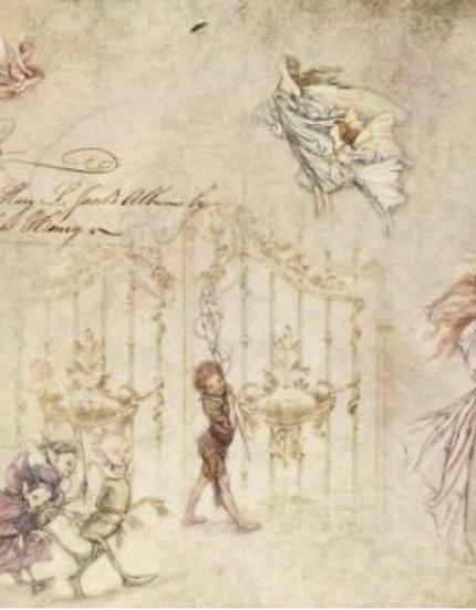 Fairies Decoupage Paper