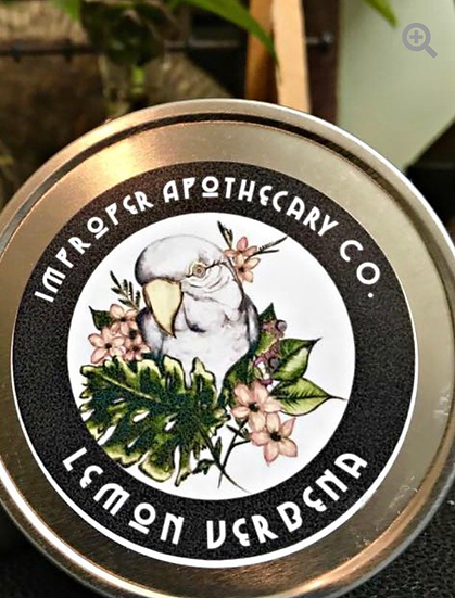 Lemon Verbena Soy Candle (8 oz)