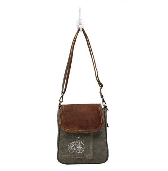 Myra By-Cycle Print Shoulder Bag