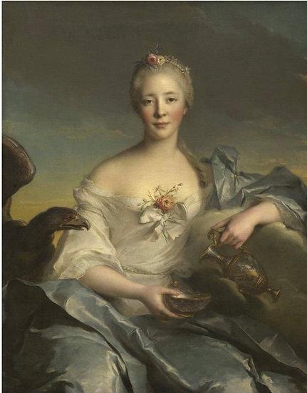 Madame Le Fevre Decoupage (Reversed)