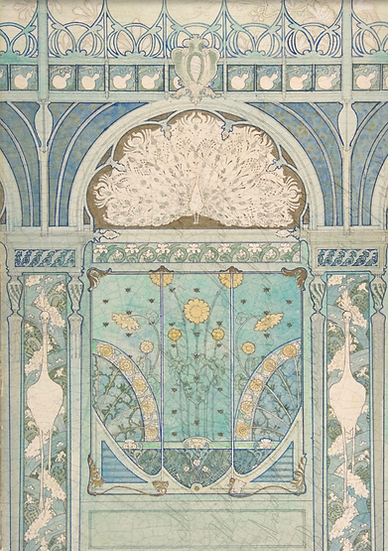 Art Deco Decoupage Paper