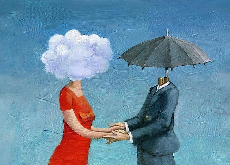 Umbrella Decoupage