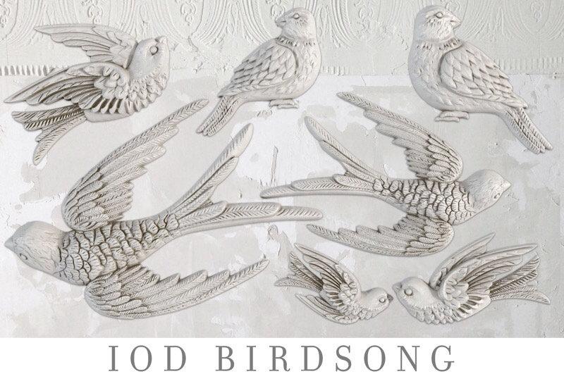 Birdsong Decor Moulds