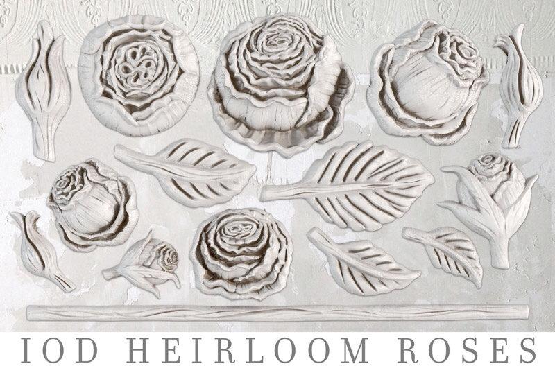 Heirloom Roses Decor Moulds
