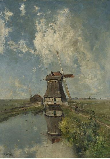 Windmill - Decoupage