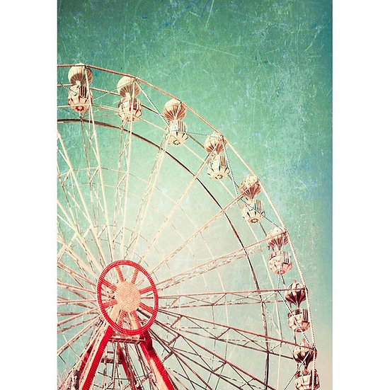 Ferris Wheel - Decoupage