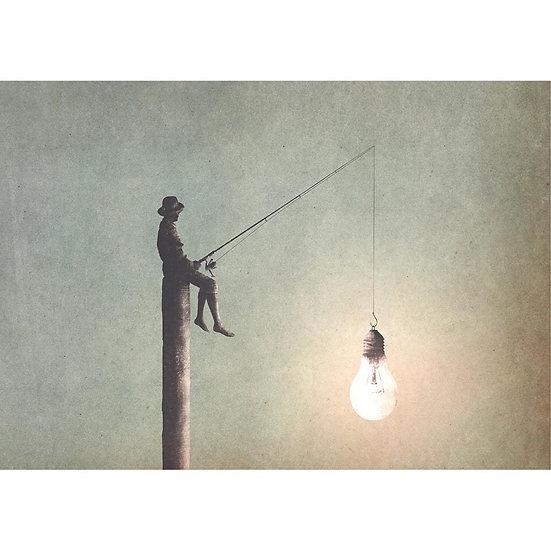 Fishing For Ideas - Decoupage