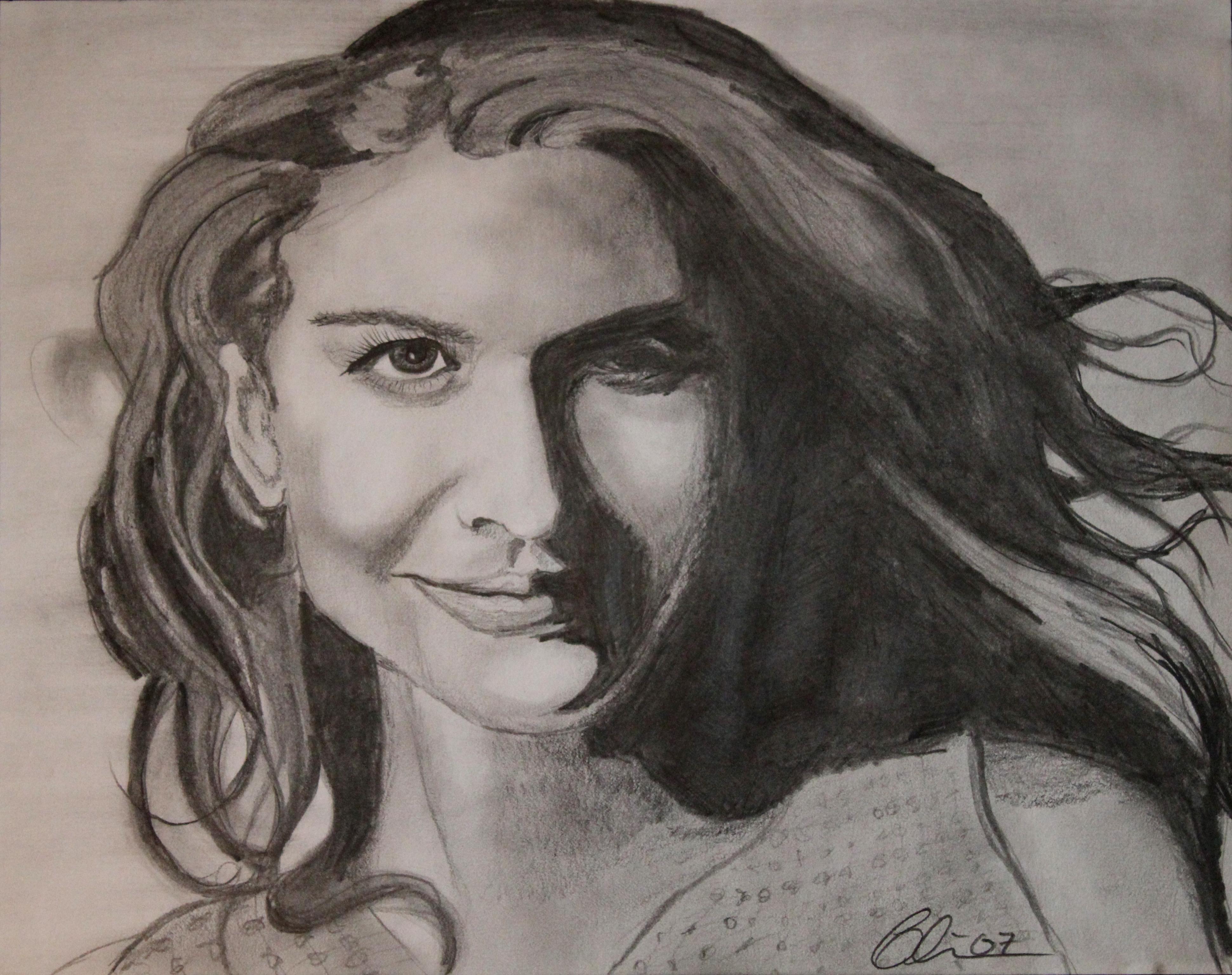 Nicole Kidman Blair Mueller Art