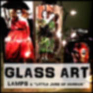 Blair Mueller Art | Glass Art and Lamps | Horror Themed
