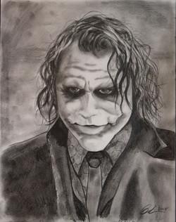 The Joker Batman Blair Mueller Art